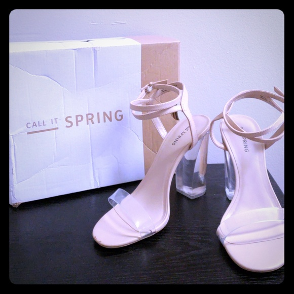 Call It Spring Womens Ocalide Nude